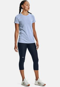 Under Armour - TECH TWIST - Basic T-shirt - washed blue - 1
