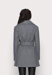 VILA PETITE - VIMOCCA BELT COAT - Short coat - grey - 2