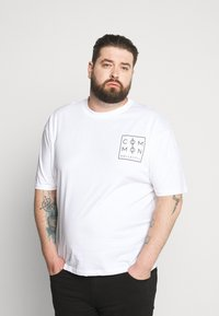 Common Kollectiv - ZONE - Print T-shirt - white - 0
