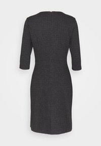 Esprit - JAQUARD DRESS - Jersey dress - anthracite - 1
