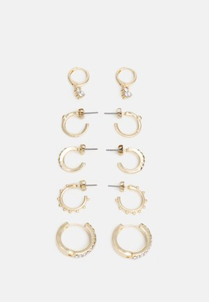 FGHELENA EARRINGS 5 PACK - Earrings - gold-coloured