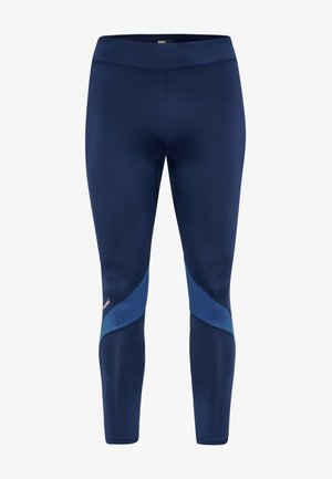 HMLALONZO  - Leggings - medieval blue