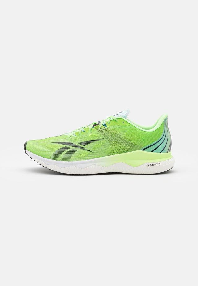 FLOATRIDE RUN FAST 3.0 - Scarpe running neutre - neon mint/footwear white/core black
