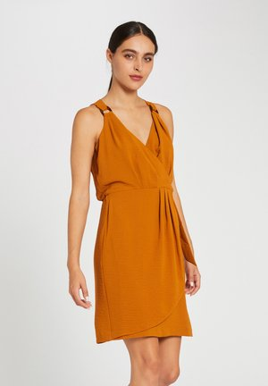 Day dress - mustard yellow