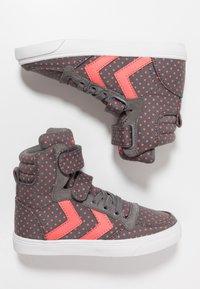Hummel - SLIMMER STADIL STAR  - Zapatillas altas - grey - 0