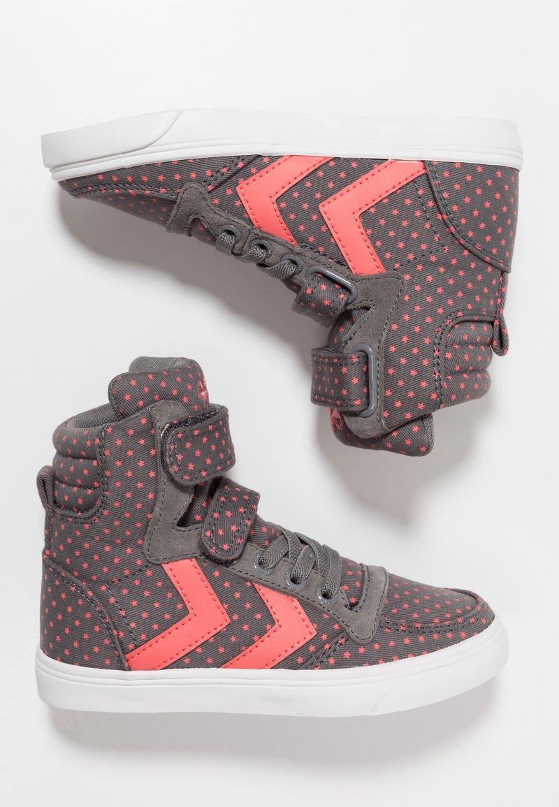 Hummel - SLIMMER STADIL STAR  - Zapatillas altas - grey
