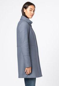 HALLHUBER - Classic coat - rauchblau - 2