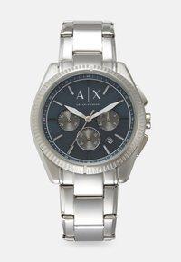 Armani Exchange - Rannekello ajanottotoiminnolla - silver-coloured - 0