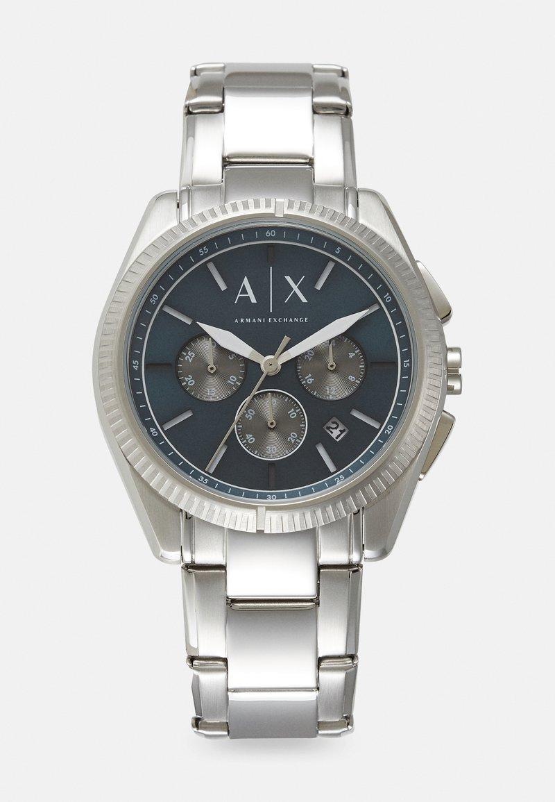 Armani Exchange - Rannekello ajanottotoiminnolla - silver-coloured