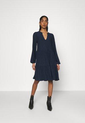VISANIANA V-NECK DRESS - Jersey dress - navy blazer