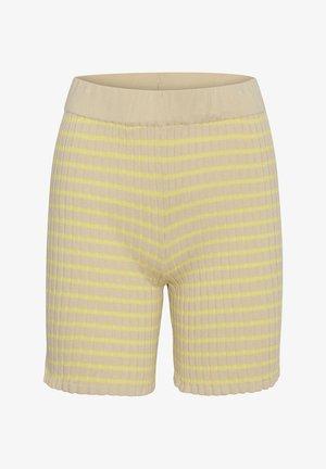 SIRA - Shorts - beige yellow