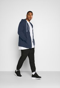 Pier One - Zip-up hoodie - dark blue - 1