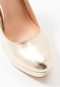 Even&Odd - High heels - gold - 2