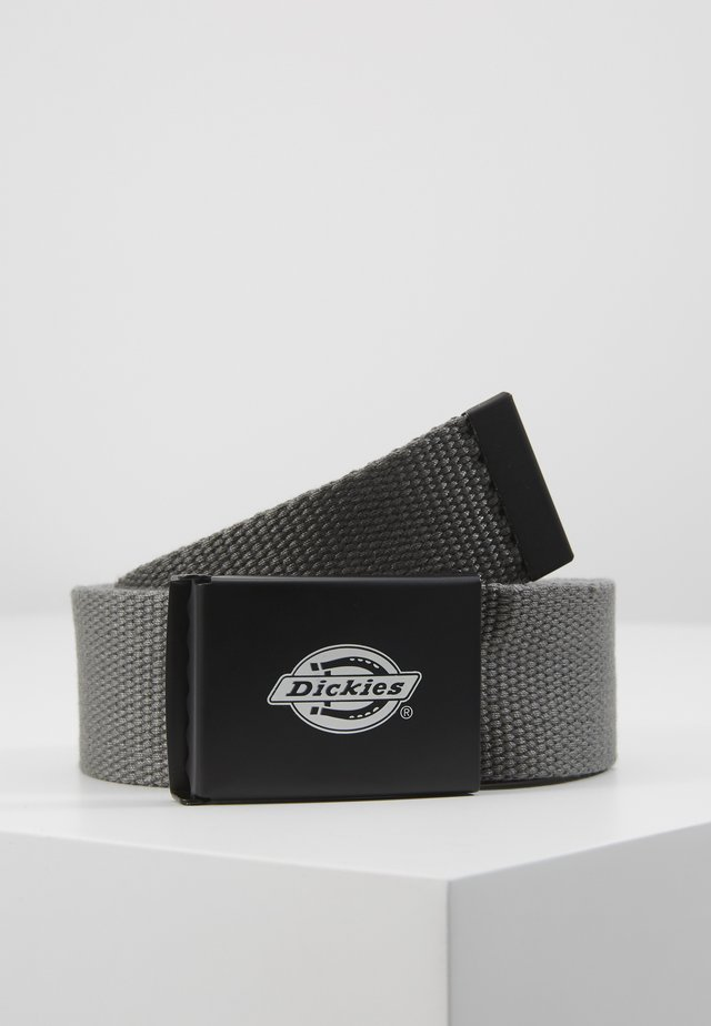 ORCUTTWEBBING BELT - Belt - charcoal grey