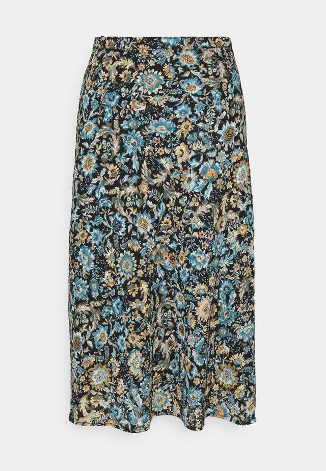 MELVINE SKIRT - Maxirok - victorian tapestry blue