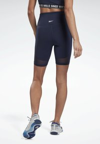 Reebok - LES MILLS® BEYOND THE SWEAT BIKE SHORTS - Shorts - blue - 2