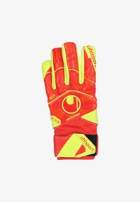 Uhlsport - DYNAMIC IMPULSE ABSOLUTGRIP HN TORWARTHANDSCHUH HERREN - Gloves - red/neon yellow - 1