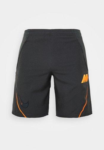 DRY  - Sports shorts - dark smoke grey/total orange