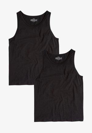 TWO PACK - Top - black