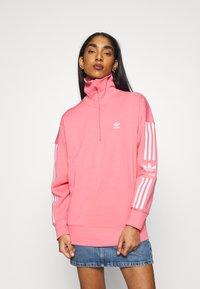 adidas Originals - LOCK UP - Sweatshirt - hazy rose - 0