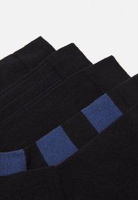 Björn Borg - BLOCK STRIPE ANKLE SOCK  5 PACK - Socks - black beauty - 1