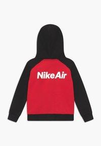 Nike Sportswear - Zip-up hoodie - black/university red - 1