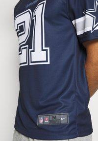 Nike Performance - NFL DALLAS COWBOYS EZEKIEL ELLIOT LEGEND TEAM - Klubové oblečení - college navy - 4