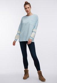 DreiMaster - Sweatshirt - rauch mint - 1