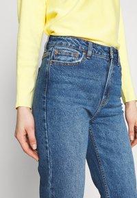ONLY - ONLEMILY RAW ANKLE - Jeans Slim Fit - dark blue denim - 3