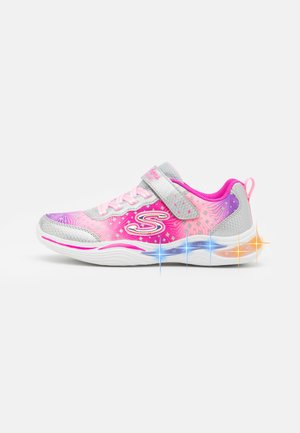 POWER PETALS - Sneakers laag - silver/pink