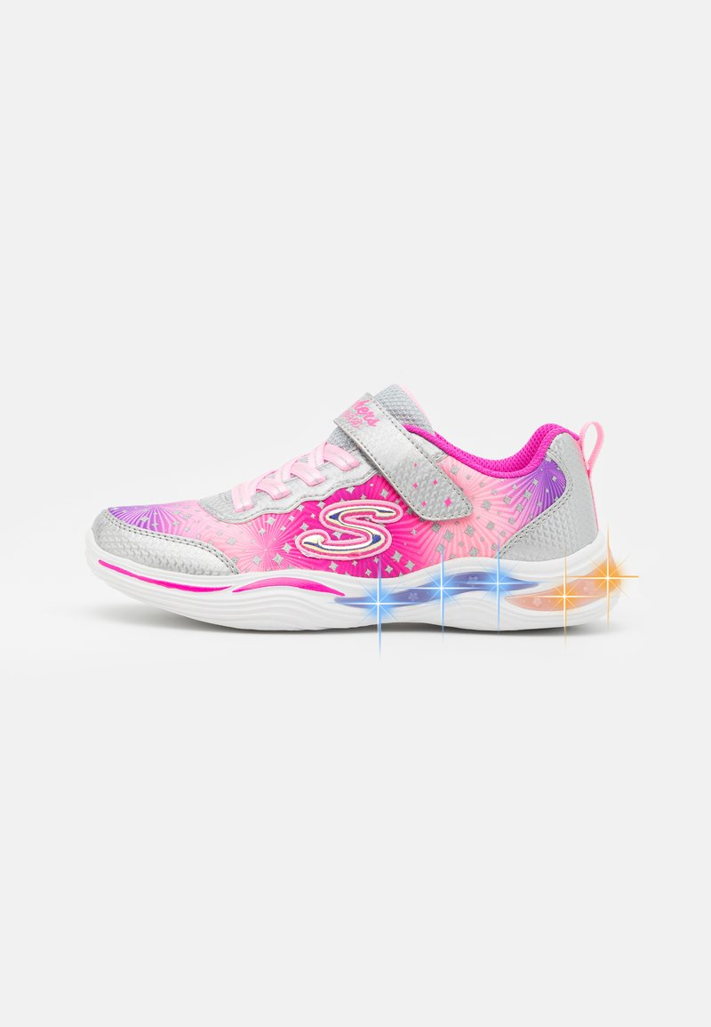 Skechers - POWER PETALS - Trainers - silver/pink