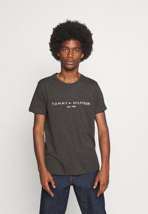 LOGO TEE - T-shirts print - dark grey heather