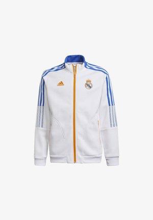 REAL ANTHEM  - Training jacket - white