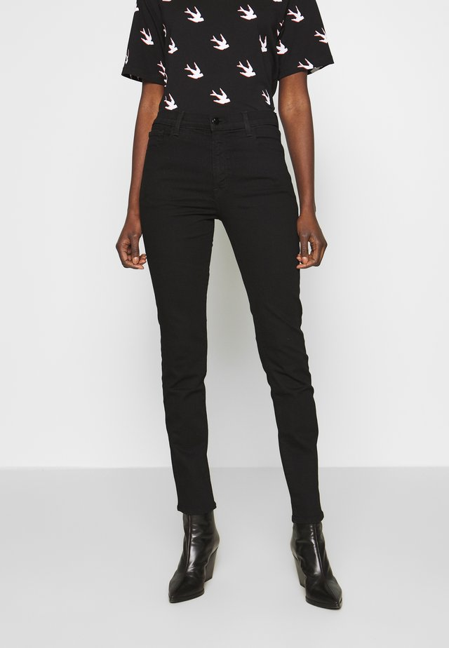 RUBY HIGH RISE CROP CIGARETTE - Straight leg jeans - vanity