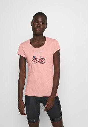 WOMEN'S CYCLIST - T-shirts med print - soft rose