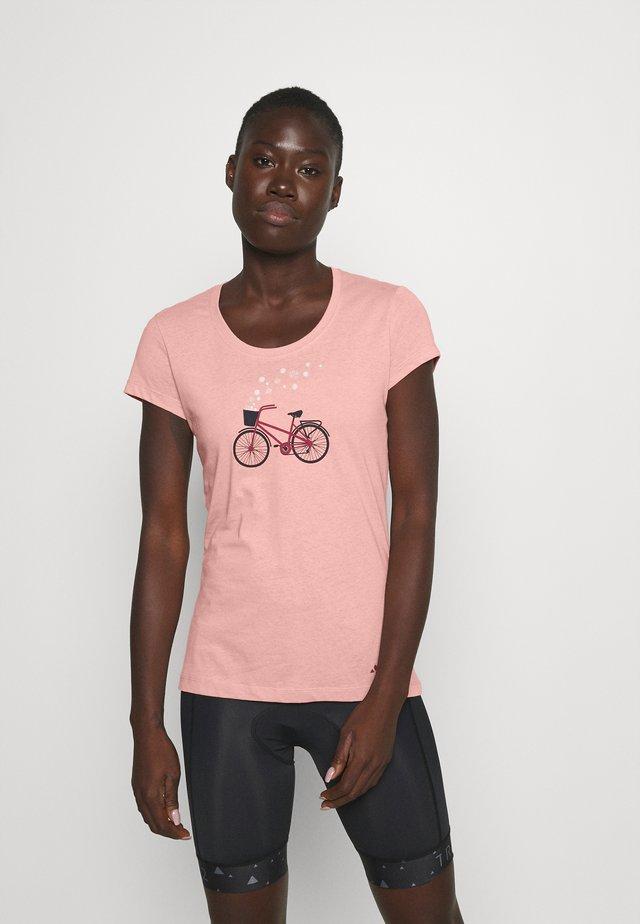 WOMEN'S CYCLIST - Camiseta estampada - soft rose