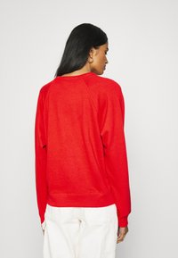 Levi's® - GRAPHIC EVERYDAY CREW - Sweater - poppy red - 2