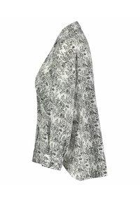 Opus - FILMA GARDEN - Button-down blouse - white/black - 1