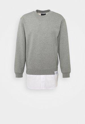 Mikina - grey melange