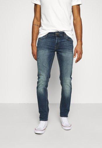 JJIGLENN JJORIGINAL  - Slim fit jeans - blue denim