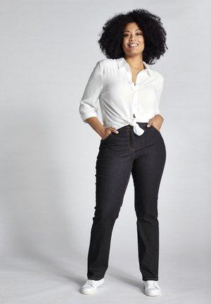 Straight leg jeans - darkblue