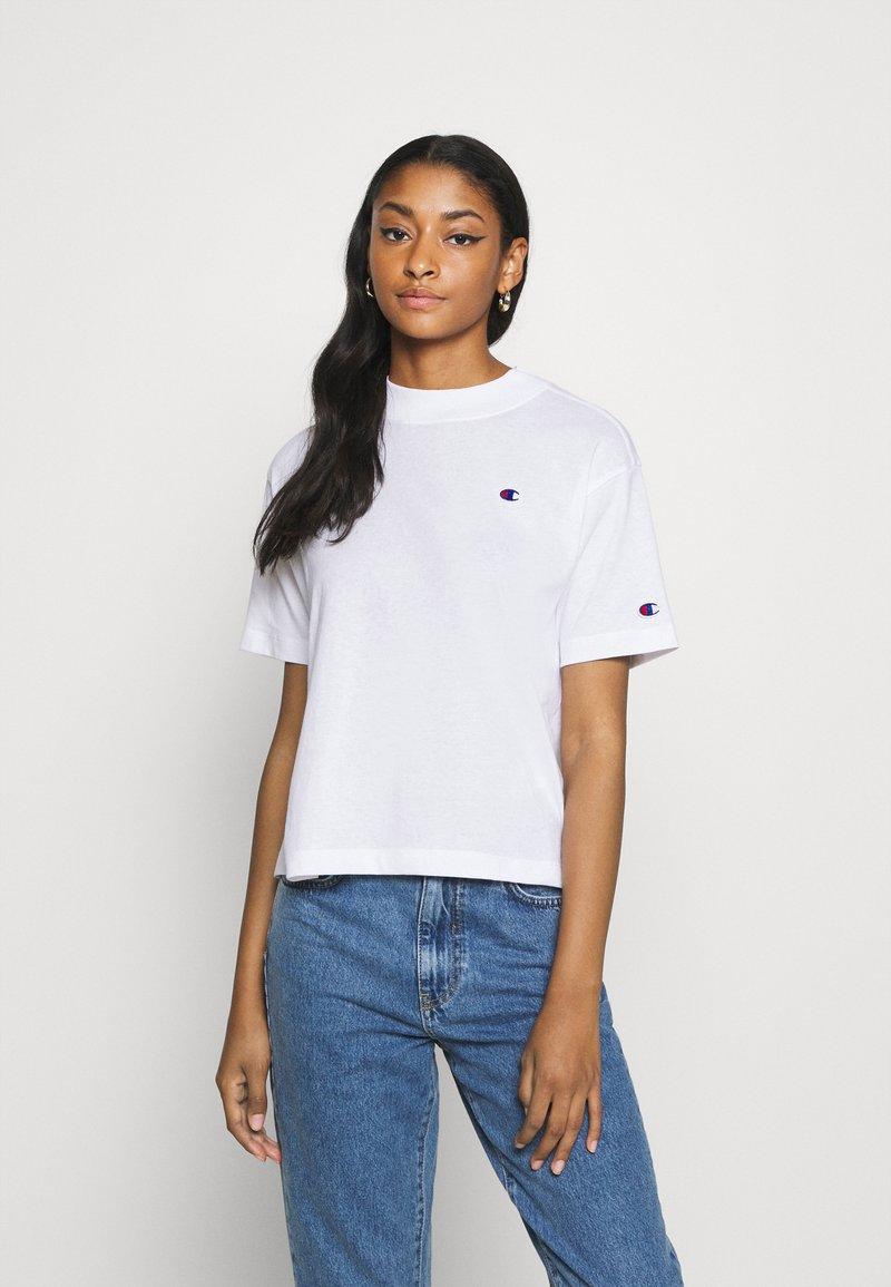 Champion Reverse Weave - Print T-shirt - white