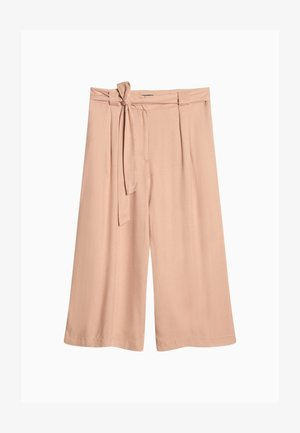 Trousers - iced latte