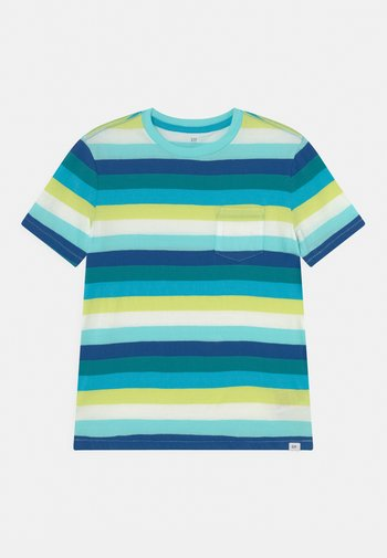 BOYS - Print T-shirt - blue