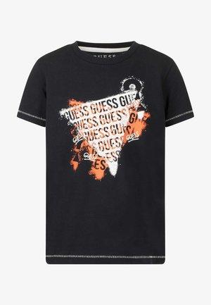 SHORT SLEEVE - Camiseta estampada - schwarz