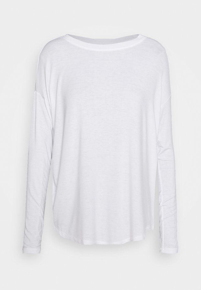LUXE - Long sleeved top - white