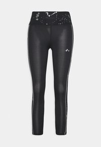 ONLY Play - ONPSILVER 7/8 TRAINING - Leggings - black/gun metal - 3