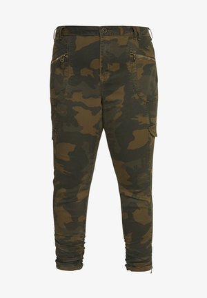 JMINNA CROPPED PANT - Trousers - ivy green