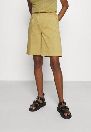 SCARLY - Shorts - khaki green