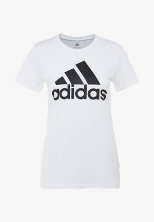 BOS TEE - Camiseta estampada - white